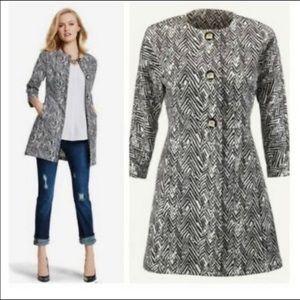 CAbi | Zig Zag Knit Ponte Jacket Style 3034 Medium